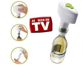 Wine bottle opener battery operated single click as seen on tv
