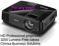 SpeakerProjector Rentals: For Dj/BanquetParty room/House party