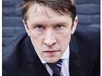 Jonathan Pie Live at the Spa Centre 25th February - 2 tickets