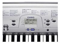 CASIO CTK-230 PORTABLE KEYBOARD (used but excellent condition), plus stand