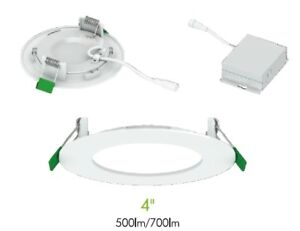 "Pot lights( 4""  Led Recessed slim Panel) at wholesale price"