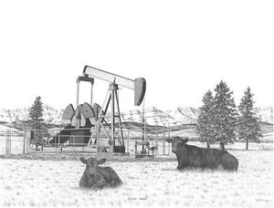 Black Gold by Bernie Brown Strathcona County Edmonton Area image 1