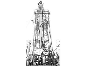The Drilling Rig by Bernie Brown Strathcona County Edmonton Area image 1