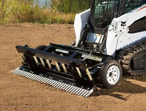 ABI SR3 Skid Steer Grading Rake for Bobcat + more