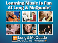 Take Music Lessons This Fall at Long & McQuade!