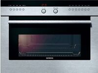 Siemens integrated compact microwave oven