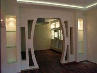 Plasterboard interior
