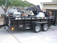 Junk removal, garbage cleanup, ( $19,95 & up )