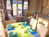 Brand New Static Caravan For Sale With Patio Doors At Sandylands North Ayrshire Scotland