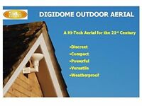Digidome outdoor TV aerial signal booster