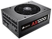 Cars stereo Amplifier Corsair Professional Series Digital AX1200i ATX/EPS Fully Modular 80 PLUS