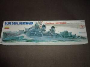 Model Kit - Very large Blue Devil Fletcher Class Destroyer 3ft Unanderra Wollongong Area Preview