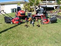 Seeking lawn mowing contrator  WANTED *