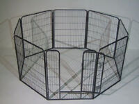Large Metal Puppy Play Pen by Bunny Business