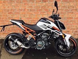 2018 KTM Duke 125 learner legal ready to race for only £18.31 a week