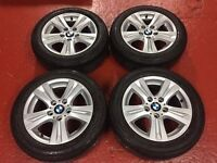 Genuine BMW 1 Series Used Wheels with 205/55/16 runflats