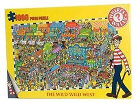 Where's Wally Wild Wild West Puzzle