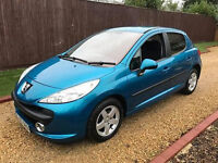 2007 PEUGEOT 207 1.4 SPORT **1 LADY OWNER FROM NEW**