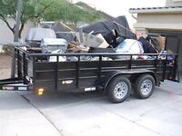 Junk removal, garbage cleanup, ( $19,95. & up )