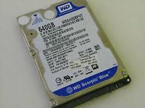 """W.D. Scorpion Blue 2.5"""" HD 640 gb."""