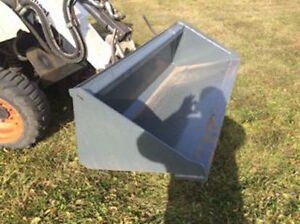 "72"" Versatech Skid Steer Smooth Bucket"