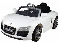 Audi R8 Spider 6V Spin Pedal Car