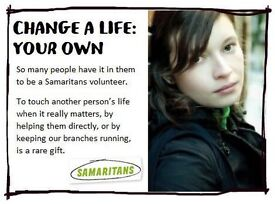Recruiting Volunteers now for Craigavon Samaritans (Branch located in Portadown)