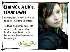 Recruiting Volunteers now for Craigavon Samaritans (Branch located in Portadown)