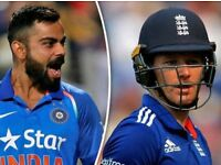 India v England 1st T20 !!! (2x) Tickets OFFER, Cricket Old Trafford Manchester 2018