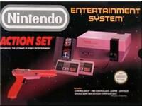 Original Nintendo NES Action set
