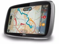 """TomTom GO 6000 Europe 6"""" Inch Navigation system Lifetime Maps Traffic 42 countries, boxed like new"""