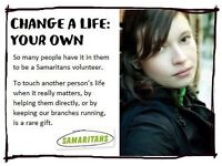 Coul you spare 3/4 hours per week to volunteer for Craigavon Samaritans