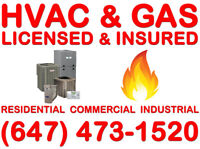 A/C, FURNACE, GAS^REFRIGERATION
