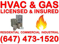 A/C, FURNACE^GAS, REFRIGERATION