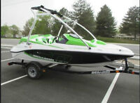 Like new, Seadoo 150 Speedster boat, turbo charged, very fast