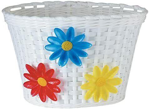 Diamondback Bicycle Flower Basket - White - Medium