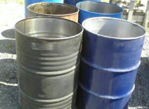 Free, Clean Metal Barrels