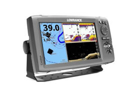 Lowrance Hook 9 Chartplotter / Fishfinder with Navionics + UK Charts