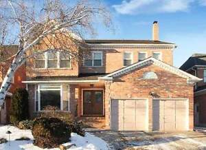 Partially furnished home for rent in markham