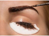 Eyelash and eyebrow tinting in Norwich with mobile appointments on Mondays and Tuesdays