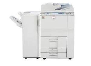BANK REPO - Ricoh MP C6501 copier with print / scan