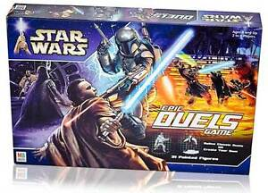 STAR WARS EPIC DUELS BOARD GAME