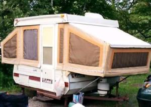 Tente roulotte lionel (bonair) 1986 impeccable