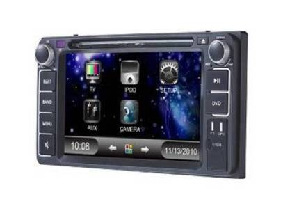 Toyota DVD, CD player, GPS, Bluetooth, iPhone/iPod, reverse cam. Lidcombe Auburn Area Preview