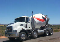 Ready Mix Truck Drivers WANTED!!!