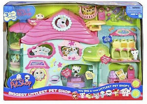 Littlest Pet Shop Biggest Littlest Pet Shop Playset - REDUCED
