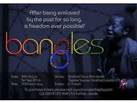"""Come and see a powerful, moving and humorous play - """"Bangles"""" by Colours Productions!"""
