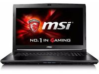 BRAND NEW IN BOX! Msi GL72 7QF gaming laptop! POWERFUL!