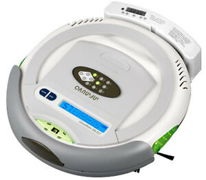 Infinuvo-CleanMate-QQ2-Series-Robot-Vacuum-QQ-2LT-with-Scheduler-Home-Base-LCD