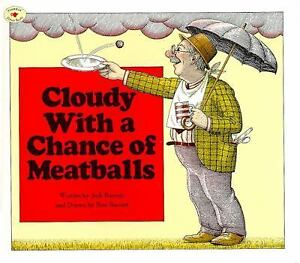 Cloudy-with-a-Chance-of-Meatballs-by-Judi-Barrett-1982-Paperback-3-books